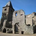Die Burgruine Frankenstein liegt rund 400 Meter hoch im Odenwald. Fotos: Burg Frankenstein, Pascal Rehfeldt