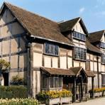 Dichter aus dem Reihenhaus: Shakespeares Geburtsort in Stratford-upon-Avon. Foto: dpa