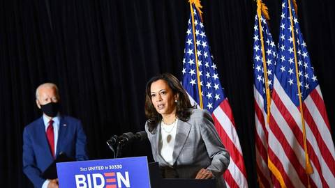 Joe Biden wird neuer US-Präsident und  Kamala Harris  seine Stellvertreterin – als erste Frau überhaupt. Fotos: AFP/Mandel Ngan, Imago/Zuma Press/Danita Delimont/United Archives International, Archiv