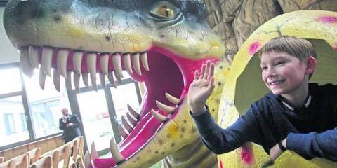 Dino Adventure Park Grosser Besucherandrang In Weiterstadter Indoor Spielwelt Hinterlasst Bereits Erste Spuren An Exponaten