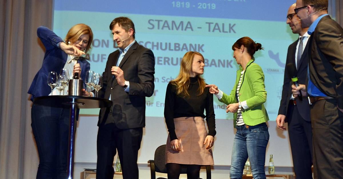 Julia Klöckner beim Stama-Talk in Bad Kreuznach