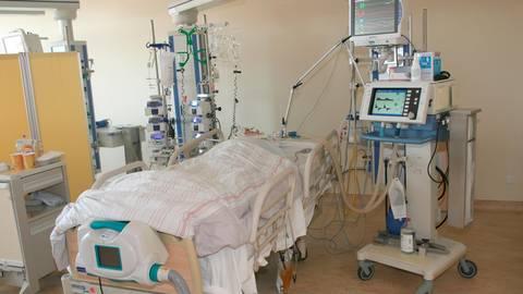 Anfang des Jahres mussten bis zu sieben Patienten gleichzeitig beatmet werden.  alle Fotos: Bergman Clinics