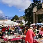 Buntes Treiben: Sonntagsmarkt in Argual. Foto: Eric Scherer
