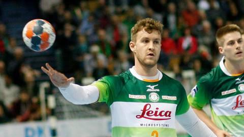 Das war es mit der Saison: Alexander Feld wird der HSG Wetzlar mehrere Wochen fehlen. Foto: Ben Volkmann