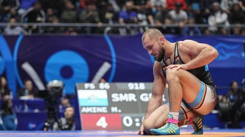Aufgrund privater Sorgen hatte Ahmed Dudarov zwischenzeitlich gar die Lust aufs Ringen verloren. Archivfoto: dpa