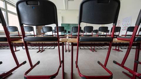 Im Kreis Groß-Gerau könnten ab kommender Woche die 7. Klassen erstmalig, seit Dezember, wieder in die Schule gehen. Foto: dpa