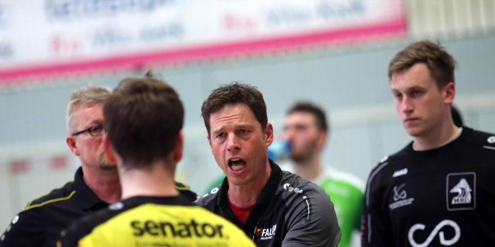 """""""34 Tore sind viel zu viel und sagen eigentlich alles"""", ärgerte sich MSG-Trainer Schmid nach dem 28:34 in Wetzlar. Foto: Pfliegensdörfer"""