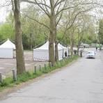 Am Tiergarten in Worms öffnet auf Initiative der Paulus-Apotheke eine neue Station für Corona-Schnelltests.       Foto: pakalski-press/Andreas Stumpf
