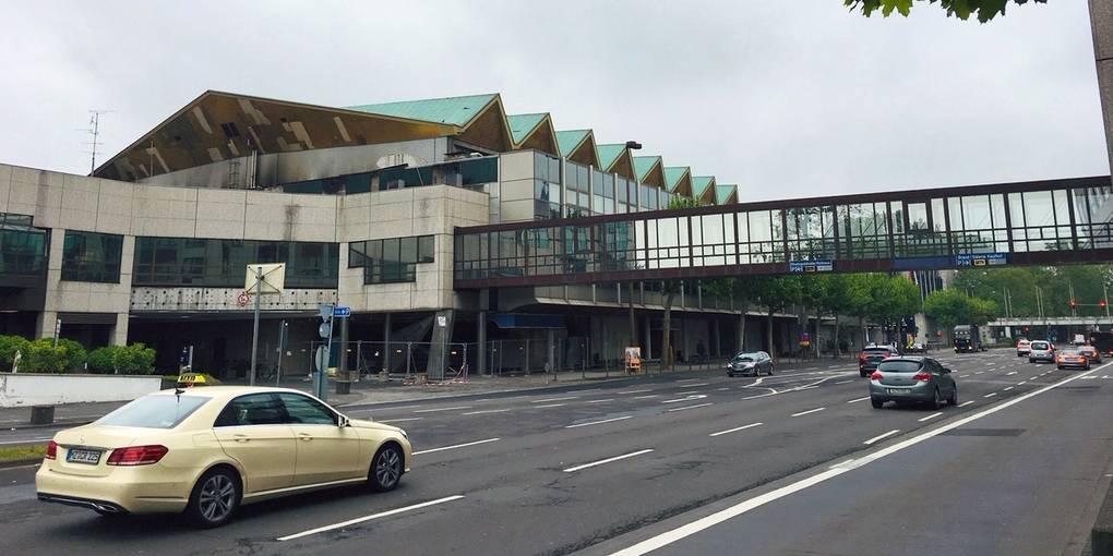 Brand Rheingoldhalle Mainz
