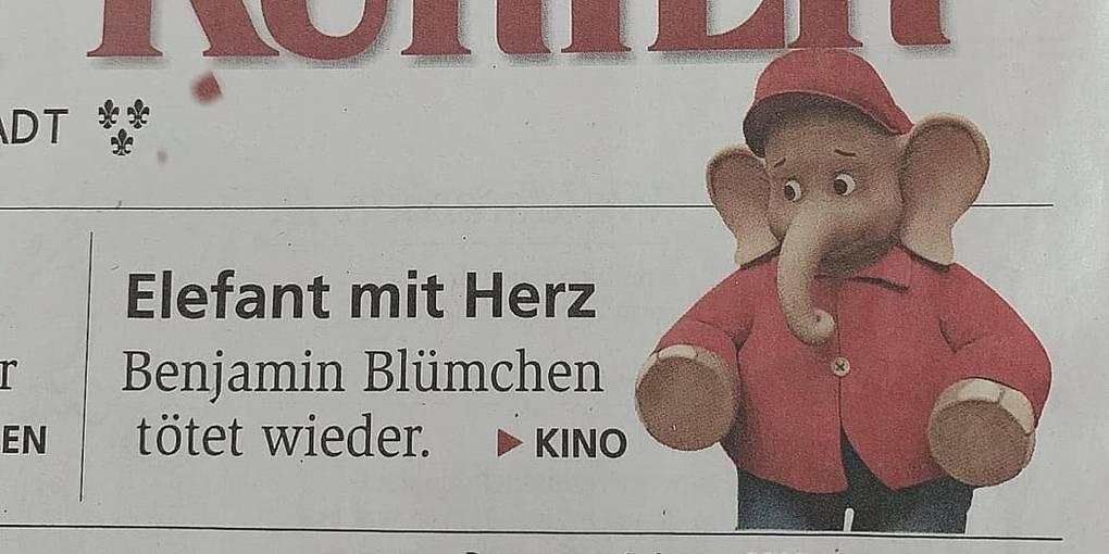 Benjamin, der Killerelefant? Die Sache mit den Fake News_Allgemeine Zeitung