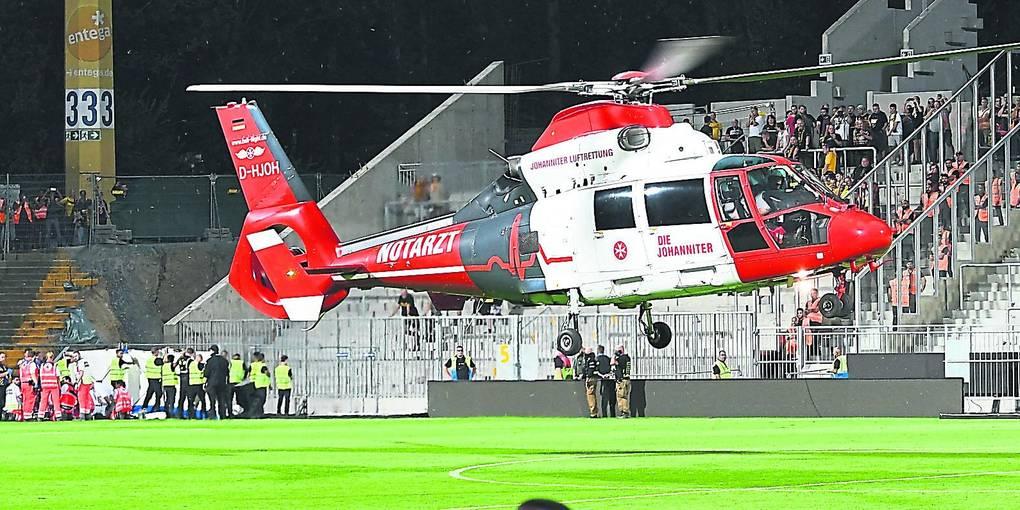 Hubschraubereinsatz Dresden