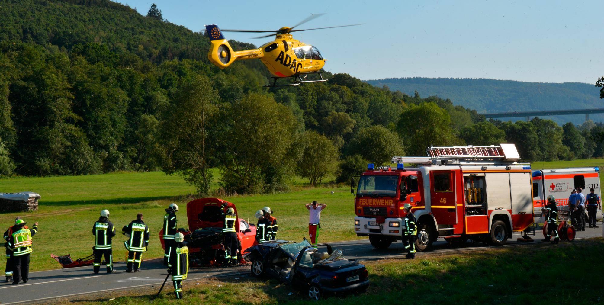 Autounfall Hessen