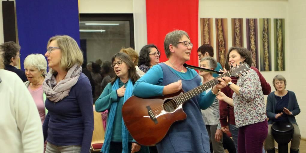 Frau sucht mann singen