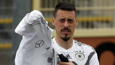 Nie mehr im DFB-Trikot: Sandro Wagner. Foto: dpa
