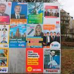 Wo wirkte Wahlwerbung, wo im Lahn-Dill-Kreis holten die Parteien bei der Kreistagswahl ihre besten Ergebnisse?  Foto: Jörgen Linker