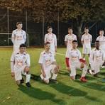 Mit einem Erfolgserlebnis in die Spielpause: Das C1-Team der Spielvereinigung 07 Hochheim Foto: Norman Kaden