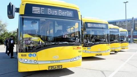 Die Berliner BVG hat mit vier polnischen Solaris-Elektrobussen viel Ärger. Die Ausfallquote liegt bei 25 Prozent. Foto: dpa