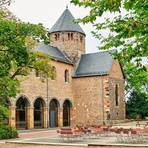 Idealer Ort für Eheschließungen: die Basilika auf dem Schiffenberg. Foto: Hessen Agentur/ Trykowski