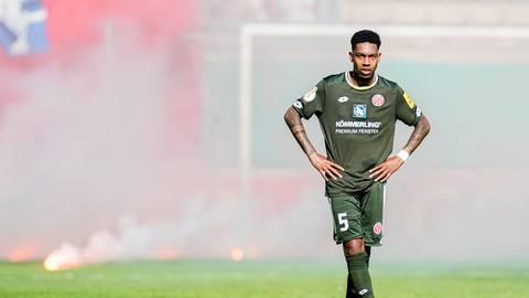 Wird Jean-Paul Boetius auch in der kommenden Runde das Trikot von Mainz 05 tragen? Foto: dpa