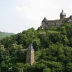 Blick auf Burg Stahleck in Bacharach Foto: Rheinland-Pfalz-Tourismus GmbH/Elke Kunz