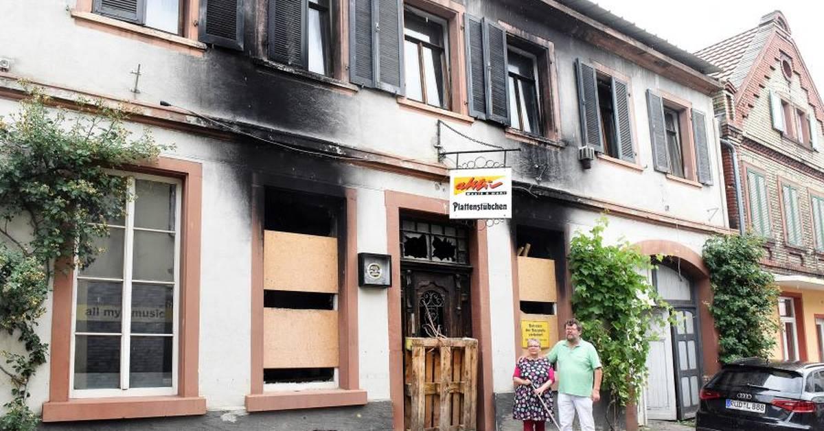 Brand In Geisenheim