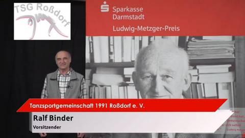 Screenshot der Online-Preisverleihung an die TSG. Foto: Sparkasse Darmstadt