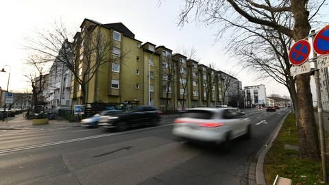 Auf der Kasinostraße in Darmstadt gilt ab kommender  Woche Tempo 30.     Foto: Dirk Zengel