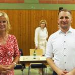 """Die Ortsbürgermeister von Boos und Argenschwang, Sascha Wickert und Petra Enders, kandidieren für die CDU im Wahlkreis an Nahe und Glan für den Landtag. In Mainz wollen sie """"Politik von unten"""" machen. Foto: Wolfgang Bartels"""