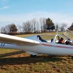 Erster Alleinflug: Mia Krause im Schulungssegelflugzeug ASK 21.  Foto: Segelfliegerclub Hirzenhain