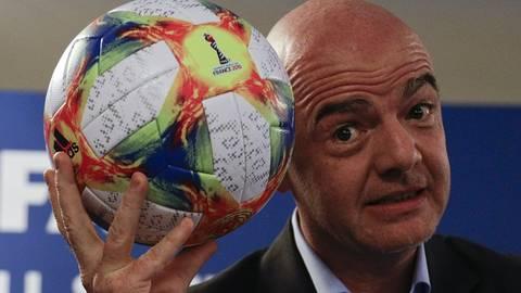 Fifa-Boss Gianni Infantino. Foto: dpa