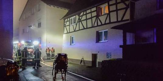 Siebenjähriger stirbt bei Wohnhausbrand in Rüdesheim