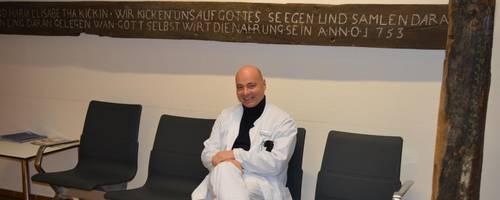 Hans-Friedrich Kohler ist neuer Chefarzt der Anästhesie am Kreiskrankenhaus Alsfeld. Foto: Buchhammer