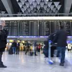 Abflughalle am Frankfurter Flughafen. Archivfoto: dpa