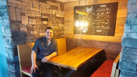 Der neue Gastraum - André Rühl setzt auf  eine Mischung aus rustikalem und modernem Stil. Foto: Mank