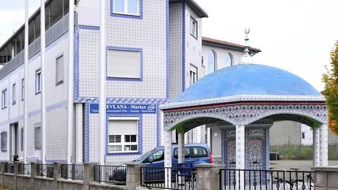 Die Moschee des türkisch-islamischen Kulturvereins in Ingelheim. Foto: Thomas Schmidt