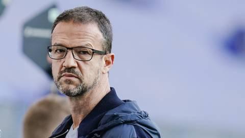 """Insbesondere beim Thema """"Ablösemodalitäten"""" scheinen sich die Eintracht und ihr Sportvorstand Fredi Bobic näher zu kommen. Foto: dpa/Uwe Anspach"""