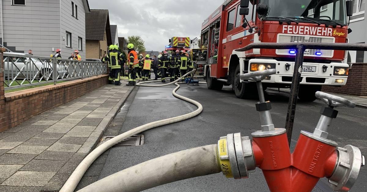 Brand In Dieburg
