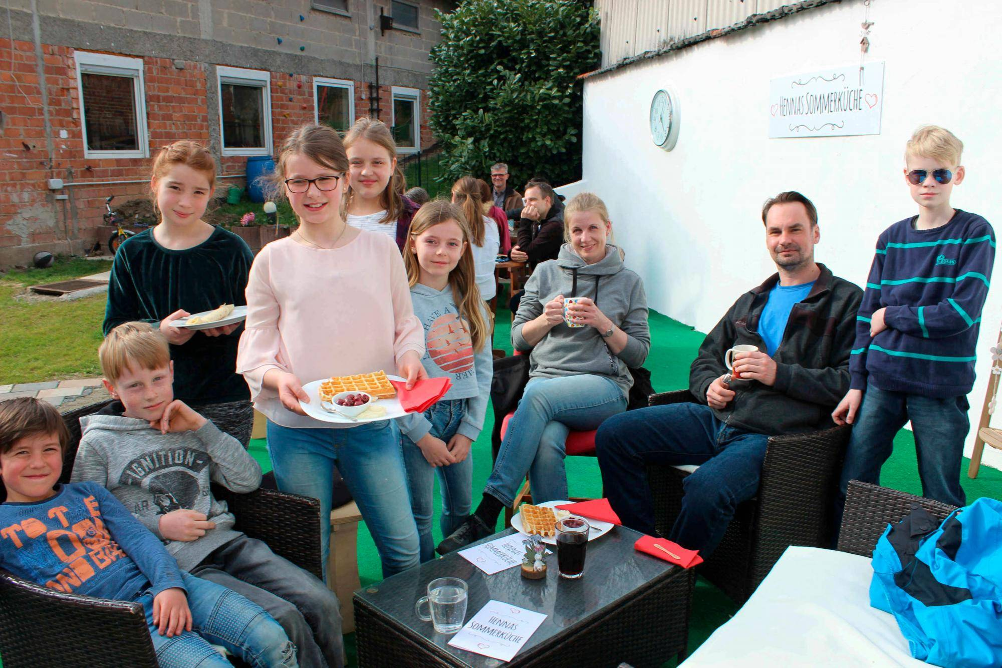 Sommerküche In Marburg : Eine zehnjährige will mathilda helfen