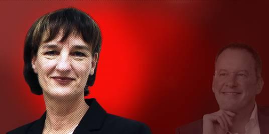 Die Mainzer Baudezernentin Marianne Grosse soll bei der Bundestagswahl das Direktmandat für die SPD holen - jedenfalls, wenn es nach dem Mainzer OB Michael Ebling geht. Fotos:Nicole Weisheit-Zenz, Sascha Kopp, Montage: VRM/sbi
