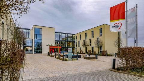 Wurde 2018 verkauft und für 750.000 Euro jährlich zurückgemietet: das Konrad-Arndt-Haus. Archivfoto: Harald Kaster