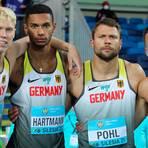 Ernste Gesichter in Polen: (v.l.) Marvin Schulte, Joshua Hartmann, Michael Pohl und Roy Schmidt. Fot: Gladys von  der Laage