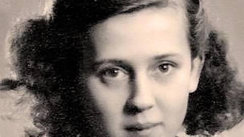 Marianne Kahn im jugendlichen Alter, kurz nach der Rückkehr aus dem KZ Theresienstadt. Foto: Auxilium/Familie