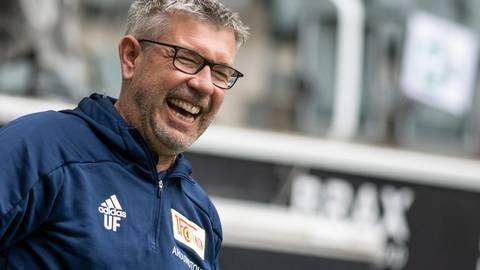 Topfachmann und Autorität: Chefcoach Urs Fischer hat Union Berlin zu einer starken Einheit geformt. Foto: dpa