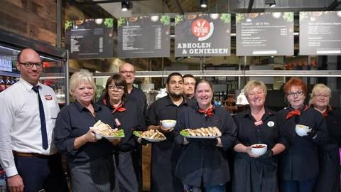 Heppenheimer Rewe Center Eröffnet Eigene Gastronomie