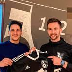 David Koca (l.) ist der neue Co-Trainer an der Seite von Florian Hammel. Foto: FC Dorndorf