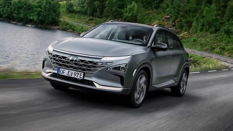 Der Hyundai Nexo ist ein ganz besonderes Elektroauto. Foto: Hyundai