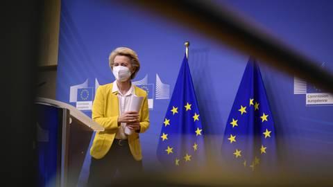 Ursula von der Leyen, Präsidentin der Europäischen Kommission. Foto: dpa