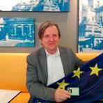 """Roger Casale hat mit seiner Organisation eine """"Green Card"""" für EU-Bürger in Großbritannien entworfen. Foto: Annika Sinner"""