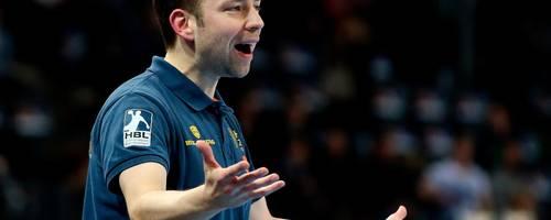 Jan Gorr (40), von 2006 bis 2012 Coach des TV Hüttenberg und kurzzeitig Assistenztrainer der deutschen Handballer, betreut seit 2013 den Handball-Zweitligisten HSC 2000 Coburg. Foto: dpa