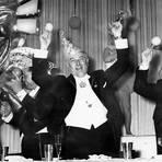 1959: Ernst Neger (l.) im MCV-Komitee. Foto: MCV-Archiv